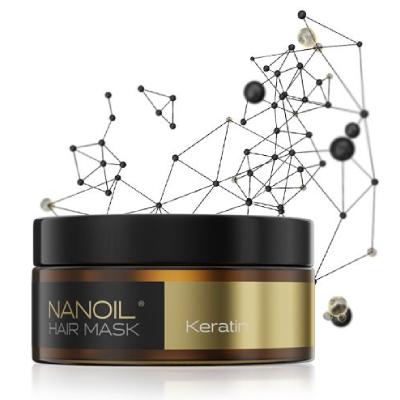 Najlepšia maska na vlasy Nanoil Keratin Hair Mask